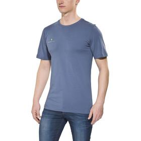 Gentic New School Bluzka z krótkim rękawem Mężczyźni, dusty blue